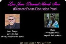 #LJDN show 9-29-14 Lina Jones DiamondForum show / This is my DiamondForum show the forum consist of 2 to 3 guest these some are previous interviews some are up coming guest interviews. Discussing trending subjects that effect us as entrepreneurs, self-employed, talents and just everyday folks who's voices are not heard in society. If you like listening to good conversation you'll love the #DiamondForum