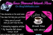 #LJDNShow 10-13-14 Lina Jones  #CoffeeTalk / Something new #CoffeeTalk is the episode that I have when its just me, you, a little entertainment at times and lots of #DiamondDeilight music. I take the time to talk about what's new in #socialMedia and in technology discoveries that benefit businesses for the self-employed, entrepreneurs, talents, and others. You are more than welcome to join me in the studio all it takes is a phone call! Share your knowledge!