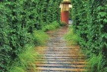 Garden Design: Inspiration / Photo board to inspire your garden design --fences, arbors, pathways, stonework, hardscaping and plants. We are only sharing photos on this board, and haven't necessarily verified the links or the content.