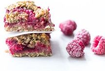 Bars and Breads / Layer bars, granola bars, sweet bites or as a snack - vegan and gluten free slices!