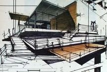 Architectural Sketches / Amazing Architectural Sketches