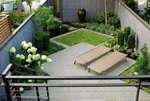 Kleine achtertuinen / Small backyards | Garden Job / Ideas and inspiration for people who have a small garden, and want to get all out of it.