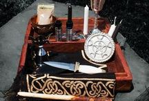 Altar Tool Sets from Travel to Home / Created here at 13 Moons for your Magick, Spell Crafting, Rituals and Ceremonies