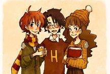 Hogwarts Is My Home / Harry Potter is the fandom that started it all. I will forever love these books and movies, and I will raise my kids on Harry Potter so they know that magic is real / by Sarah Miller
