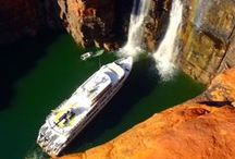 Kimberley Wilderness Cruises / The Kimberley coastline is truly one of the world's last great wilderness areas.Explore secluded beaches and river inlets – waters famous for an abundance of wildlife.  See spectacular waterfalls and awe inspiring gorges, ancient cultural history and indigenous rock art. The best way to experience the Kimberley is with us!