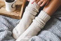 Autumn/Fall and Winter / Wintertime, winter, cosy, warm, fire, open fire, winter fire, indoors, blanket, night in, winter nights, snow, winter snow.