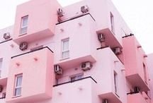 Pink Everything! / Pink, the colour pink, pink makes me happy, pastel pink, pale pink, bright pink, fuschia pink, cerise.