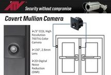 Specialty Security Cameras / Unique form-factor video surveillance cameras for special applications.  Covert Surveillance Security Systems. Both Network (IP) and analog cameras.