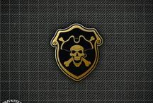 Privateer Pins / Privateer Pins on Pinterest!   http://privateerpress.com/pins