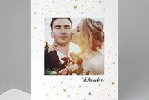 Hochzeit ♡ Dankeskarten