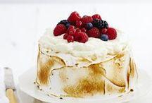 Les jolis gâteaux...