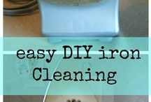 Cleaning Tips / Tips to make cleaning easier!