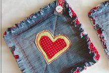 RECICLANDO JEANS / Reciclagem de jeans em novos produtos