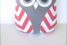 DIY owls