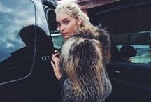 Furs / Our obsession with furs. Faux or real furs...we don't discriminate.