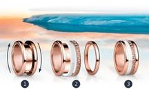 Rings are the girls best friend / The Arctic Symphony Collection presents rings made of various high quality materials, which can be combined with a unique system. Putting together your own favourite combination is a doddle: individual and unique. Solo or combined - the rings are real eye-catchers.