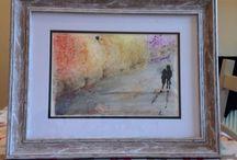 Watercolour originals / Original watercolour art. For commission pieces please email wordsforangela@gmail.com