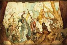 Fairy tail illustration