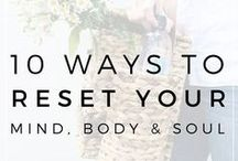 Mental and Physical Wellbeing / Wellness, wellbeing, minimalism, looking after yourself, self care, self preservation, tips, lifestyle blogs, self care list, love yourself.