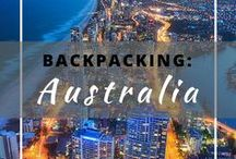 Backpacking: Australia / Everything you need to know about backpacking in Australia.