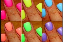 Neon Frivolity / brights, fluros and all prisms of colour in life