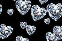 jewels, gems and glittery stuff / by Lisa Schramek