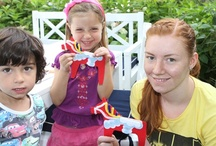 Cultural Crafts for Kids / For au pairs and host families: enjoy these entertaining crafts from all over the world