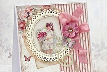 Cards, using vintage art. / Modern cards, handmade using vintage graphics. / by Jenni Jordan