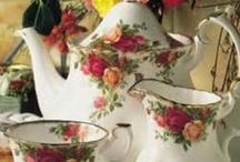 China, porcelain, glass. / Antique, vintage, retro and modern. / by Jenni Jordan