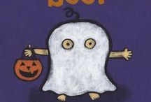 Holidays - Halloween / Spooky, creepy, silly, scary, funny books to share at Halloween. #Halloween