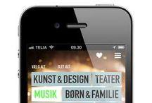 DIGITALE LØSNINGER // App til Öresundskomiteen / Opgaven lød på at udvikle en app, hvor man kan søge på oplevelser i området København / Malmö.