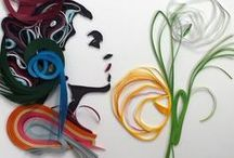 Quilling from others, admire this work / Love this art from Neli & Ada / by Branka Miletić