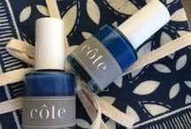 all about indigo / this blue shade of the moment radiates coolness on summery days by the coast