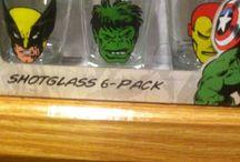 My shot glass collection / Nuff said