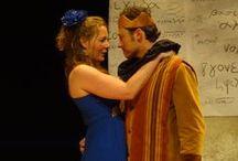 """Storm van Shakespeare / juni 2014 """" Storm """" een bewerking van the Tempest. In deze toneelbewerking wordt Prospero gespeeld door een vrouw, evenals  Helen Mirren in de film the Tempest"""