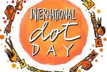 International Dot Day - September 15 / Dot Day is coming! There are so many fun classroom activities to celebrate International Dot Day and the creative spirit!  Check out all the Dot Day ideas on Pinterest.  #DotDay #celebridots #thedotclub. Sign up for Dot Day http://www.thedotclub.org/dotday/