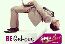 Become Gel-ous (CAMPAIGN) / Indicative of, conducive to, or promoting a good feeling: 'I'm feeling gel-ous today'