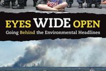 Eyes Wide Open: Going Behind the Environmental Headlines / #medialiteracy #climatechange #globalwarming This book is more relevant and important now than ever before! Suddenly everything needs rethinking. It's a changed world.This book explains it. Not with isolated facts,but the principles driving attitudes and events, from vested interests to denial to big-country syndrome.Because money is as important as molecules in the environment,science is joined with politics,history,and psychology to provide the briefing needed to comprehend the 21st century.