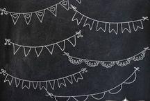 Chalkboard / schoolbord