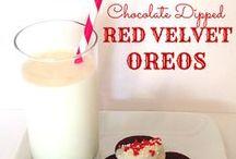Valentine's Day Love / Valentine's Day recipes, easy desserts, easy Valentine's Decor and more