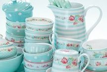 Greengate/Cath Kidston. / Photos of home decor, utensils, and decorations, made by Greengate, using designs of Cath Kidston, and others. / by Jenni Jordan
