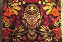 Coloring / Johanna Basford: Secret Garden, Enchanted Forest   Tips & tricks