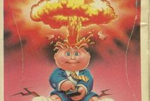 Garbage Pail Kids / Garbage Pail Kidsis a series oftrading cards produced by theTopps Company, originally released in 1985. In my opinion, simply the best '80s collectibles.