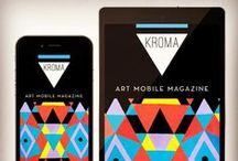 KROMA Art Mobile Magazine / Download KROMA mobile magazine at your smartphone for free, and enter a world of Art and Creativity. www.kromamagazine.com