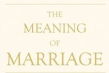 Marriage Reading / A collection of books we've read or that have been commended to us on marriage. Got a suggestion for a book that's impacted your thinking on marriage? Tag us in a pin and we'll take a look.