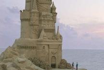 Ice, Sand & Wax Sculptures