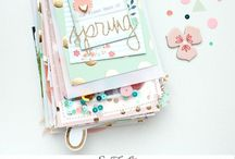 Scrapbook - Mini albums / When I'm about to start a new mini album I love to check this board and find some inspiration.