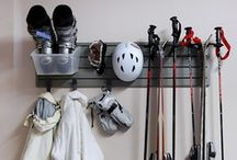 Ski Room / Ideas and inspiration for storing all of your ski gear!