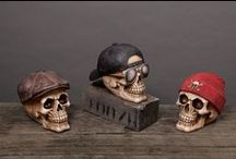 Skulls / We have so many Resin #Skull designs to choose from, there really is something to suit every customer! #decoration #giftware #accessories