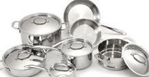 Cookware / Upscale cookware, meticulously hand crafted from only the highest grade of stainless steel.